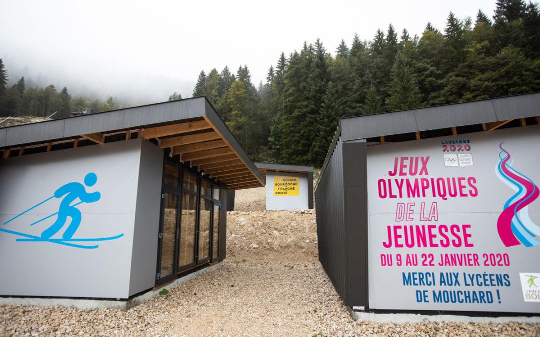 Stade des Tuffes, Les Rousses (Jura) - Photo Vincent Arbelet