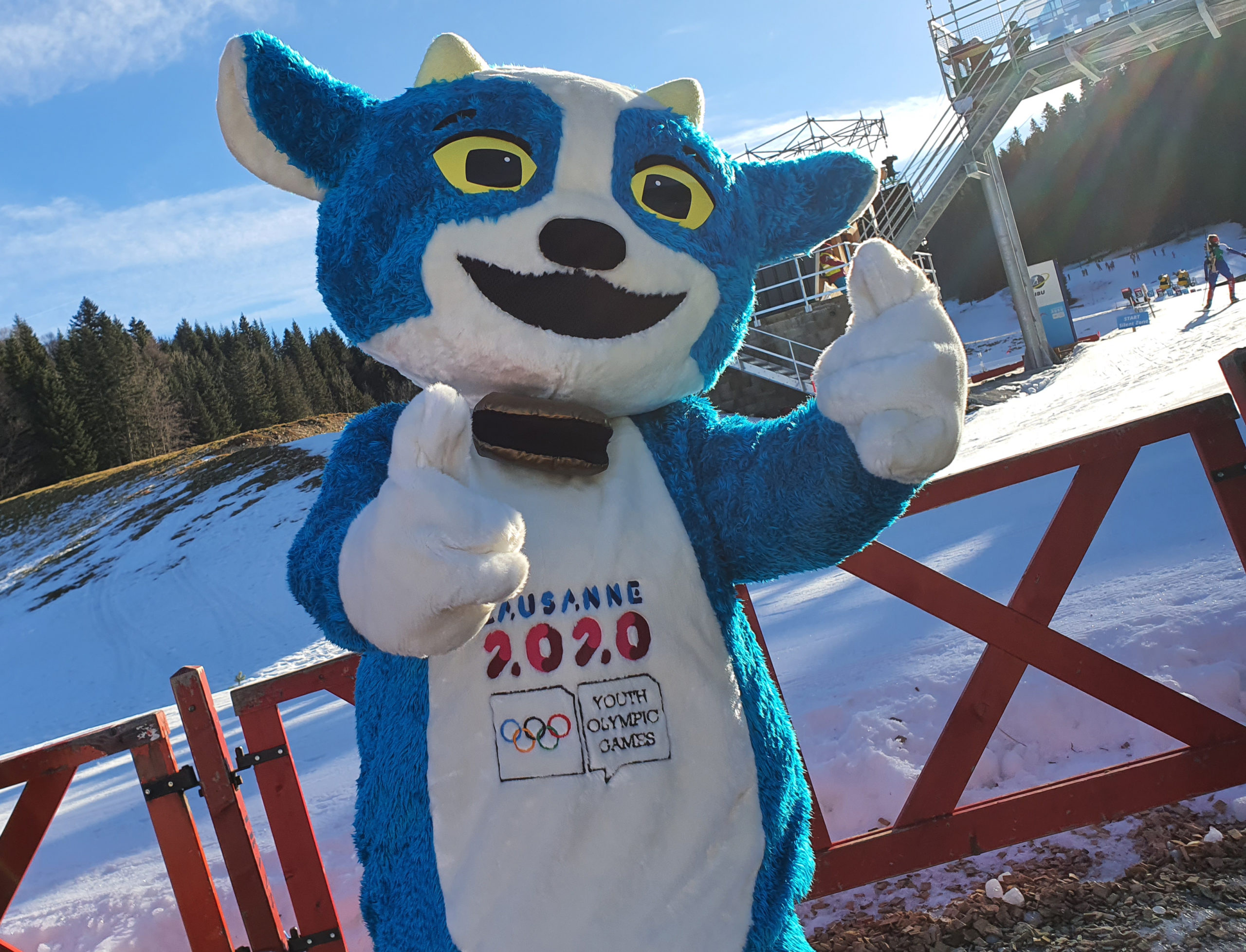 Yodli, mascotte officielle des JOJ 2020 - Photo DR