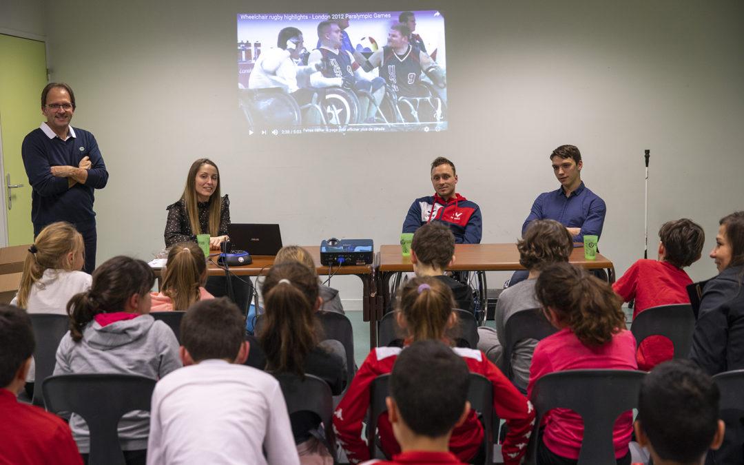 Semaine olympique et paralympique : parlons sport !
