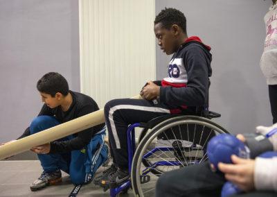 Semaine olympique et paralympique, 3 février 202 à Besançon - - Photo Région Bourgogne-Franche-Comté / David Cesbron